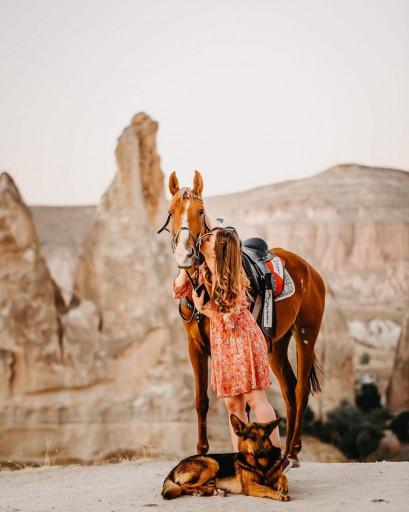 Gün Batımı At Turu Kapadokya