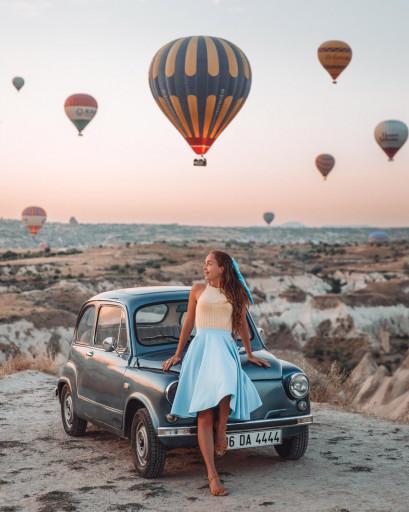 Kapadokya'nın en popüler Instagram lokasyonlarına fotoğraf turu