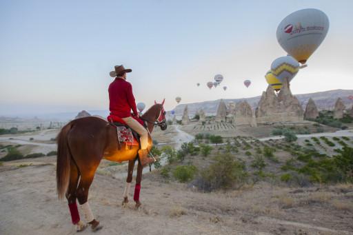 Cappadocia Equestrian Course Holiday 5 Days