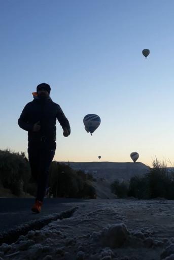 Kapadokya Balonlarla Sabah Koşusu